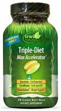 Irwin Naturals - Triple-Diet Max Accelerator with Garcinia Cambogia 72  JUN/2019