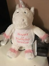 Personalised Teddy Bear  Unicorn new baby /birthday/christening gift
