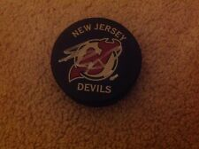 New Jersey Devils Stephen Gionta Autographed Puck