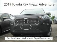 Select Years and Submodels LeBra 551718-01 Black Vinyl Front End Cover for Toyota 4Runner TRD