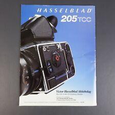 Original 1991 Catalog Hasselblad 205TCC Camera Specifications and features