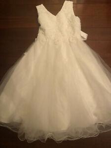 Girls Bridesmaid Or Communion Dress Size G16-18