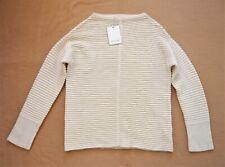 Jigsaw BNWT Horizontal Rib Tunic Sweater Jumper Top Knitwear Size S UK 10 £110