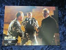 The Rock lobby card  # 4 - Original German Still  Nicolas Cage, Sean Connery