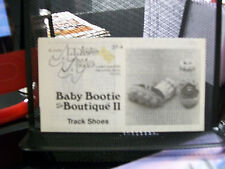 TRACK SHOES CROCHET PATTERN ANNIE'S ATTIC 37-4 BABY BOOTIE BOUTIQUE II