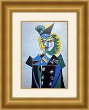 Pablo Picasso - Portrait of Nusch Eluard Custom Gallery Framed Print