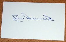 RORY UNDERWOOD ENGLAND RUGBY PERSONALLY SIGNED AUTOGRAPH INDEX CARD