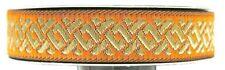 0,58€/m 10m Borte Keltischer Knoten 16mm breit Farbe: Orange-gold