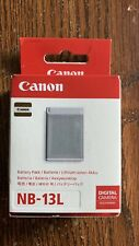 Genuine Canon NB-13L Battery for Canon PowerShot SX740 SX730 G7X MARKII G5 G9X