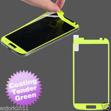 Samsung Galaxy S4 Color Coating Screen Protector Film Tender Green