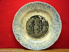 Jolie ancienne petite assiette, militaire, Pexonne