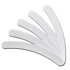 10 Feilen gebogen 100/180 Weiß Weiss Bananenfeile Bummerang Feile Nagelfeile