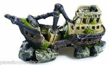 Classic 2680 Fish Tank Aquarium Ornament Ship Boat Wreck Galleon Cave Decoration