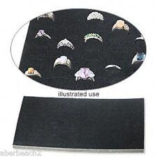 144 Ring Foam Pad Holder Tray Display Liner Insert Full Size 36 144 Rings Black