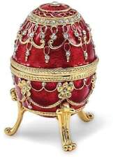 Bejeweled Imperial Rot Musical Schmuck Ei