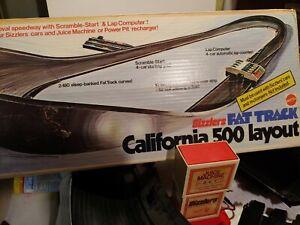 Mattel 1970 Sizzler's Fat Track California 500 Race Set