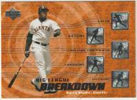 2002 Upper Deck Big League Breakdown #BL13 Barry Bonds card San Francisco Giants