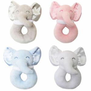 Baby Elephant Rattle Newborn Boy Girl Soft Toy Gift Baby Shower