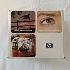 HP Photosmart 618 2.1mp Digitalkamera-Metallic Silber-Brandneu Versiegelt