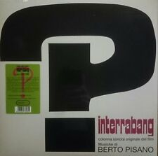 Berto Pisano Interrabang OST LP Sonor Music Editions reissue limited to 500