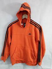 Boys Orange Adidas Top Hoody Jumper Size 11/12 Yr