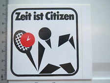 Autocollant sticker Citizen-Montres-chronomètre (6375)