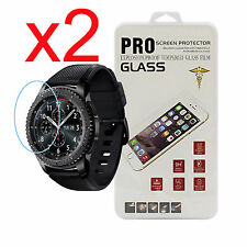 2x Tempered Glass Screen Protector For Samsung Gear S3/S3 Frontier/S3 Classic