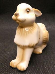 Brown Rabbit (or Hare?) Porcelain Ornament