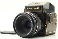 RARE 【N MINT】 Mamiya M645 1000s Lizard Gold Limited w/ 80mm f/4 Lens from Japan