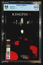 Civil War II: Kingpin #4 CBCS 9.8 Ortiz, Sherman, Punisher Cameo, Last Issue