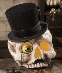 Halloween Mr Skeleton Skull - 25cm