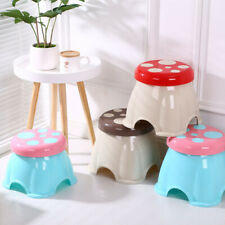 Creative Children's Plastic Low Stool Cute Small Stool Small Bench for Home Baby