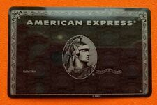 American Express Centurion Black card. Authentic. Ultra RARE ! Collectible.