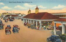 New Orleans~French Market~Cars~1943 Military WWII~Roger Hines to Sweetheart~Navy