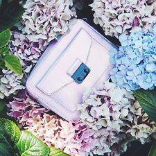 Textured Iridescent Holographic Lilac UNICORN Colour Handbag BNWT