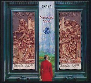 Spain 3678 MNH Christmas, Adoration of the Shepherds, Art