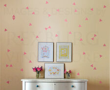 Triangle Mural Geometric Shape Wall Decal Vinyl Sticker Art Decor Decoration G48