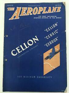 Vintage The Aeroplane Magazine 1942 March 20th 1942 Airplane Magazine