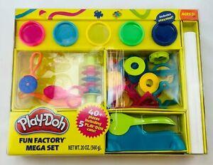 Play Doh Fun Factory Mega Set Brand New FREE SHIPPING