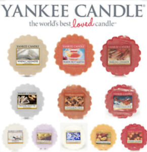 Yankee Candle Scented Wax Tart Melt Variety - Same Day Dispatch - Fast Delivery