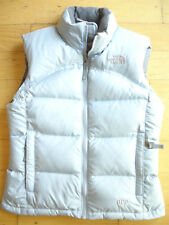 Girls North Face Vest Puffer Jacket Size 7/8 Small Baby Blue 600 S 7 8 Coat Girl