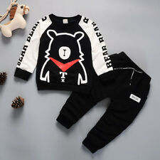 DIIMUU Kids Boys Clothes Baby boy Clothing Outfits Set T-shirt + Pants Tracksuit