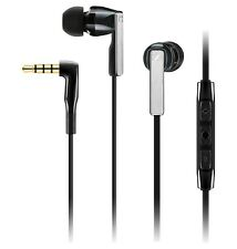Sennheiser CX 5.00 I In-Ear Headphones with mic/remote, noir.