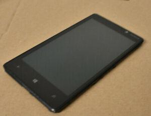 Nokia Lumia 820 LCD Display Screen Einheit Schwarz Original Gebraucht