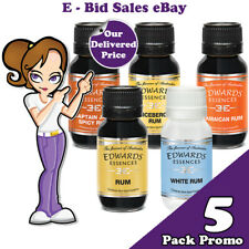 Rum Variety Spirit Essence x 5 Pack Promo @ $53.99 * Delivered