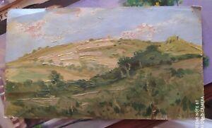 Marco Calderini (Torino 1850-1941) dipinto anni 30 Vendita No Profit