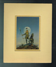 Amazons by Michael Whelan Double Matted Print