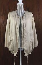 lightweight safari jacket by ZARA WOMAN.  Size Large