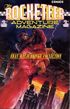 THE ROCKETEER ADVENTURE MAGAZINE #2 (1989) COMICO DAVE STEVENS STORY & ART!
