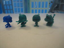 VINTAGE LOT 4 OF GREEN FIGURES rock band